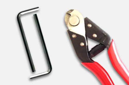 Wire and cable fence installation tools & accessories