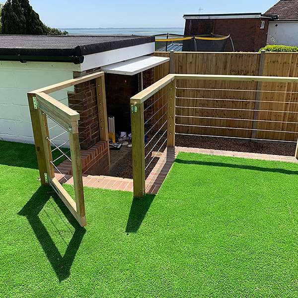 Premium quality balustrade cable fence systems | Buy online 4
