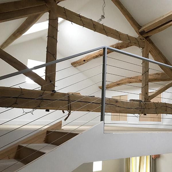 Indoor Stairs & Rails 1